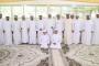 محمد بن راشد ومحمد بن زايد والشيوخ يحضرون أفراح المهيري والقرقاوي