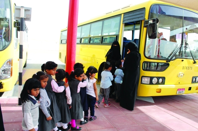 ساعتان لموظفي بلدية الفجيرة لمرافقة أبنائهم أول يوم في المدرسة