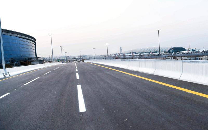 افتتاح جسر رئيس على شارع المطار في دبي