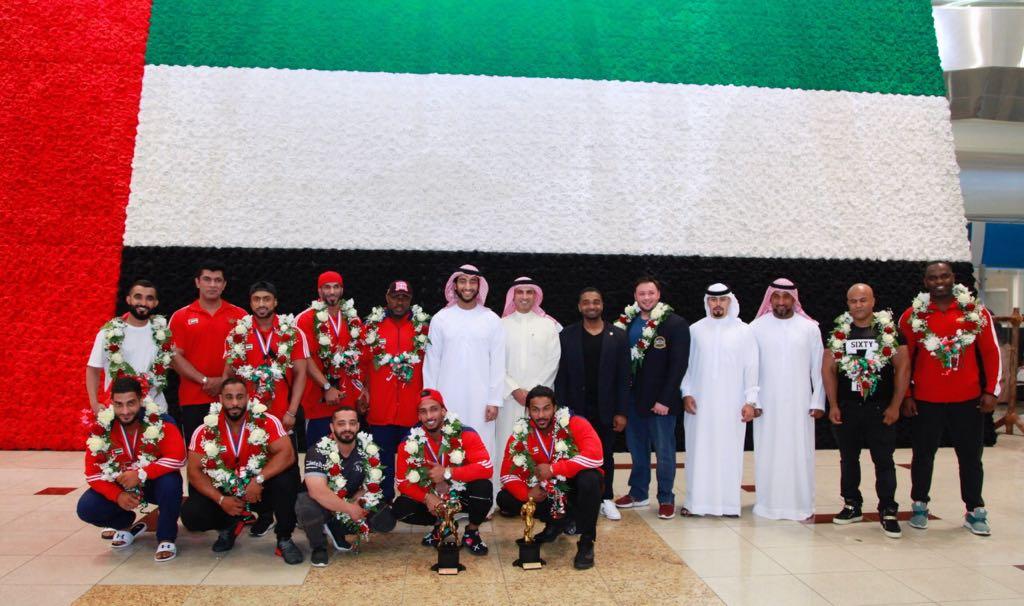 عبدالله الشرقي يستقبل أبطال
