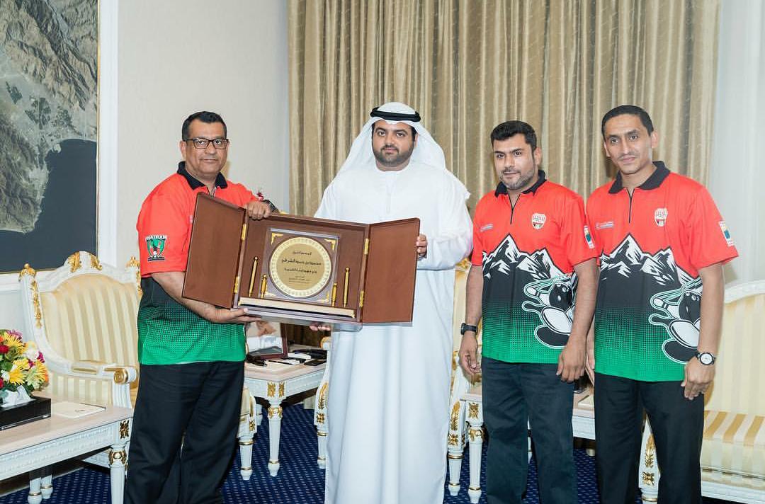 محمد الشرقي يستقبل فريق الفجيرة للبولينغ