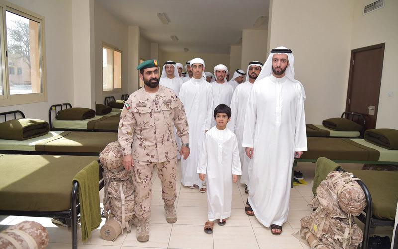 القوات المسلحة تنظم يوماً مفتوحاً لأولياء أمور مجندي الخدمة الوطنية