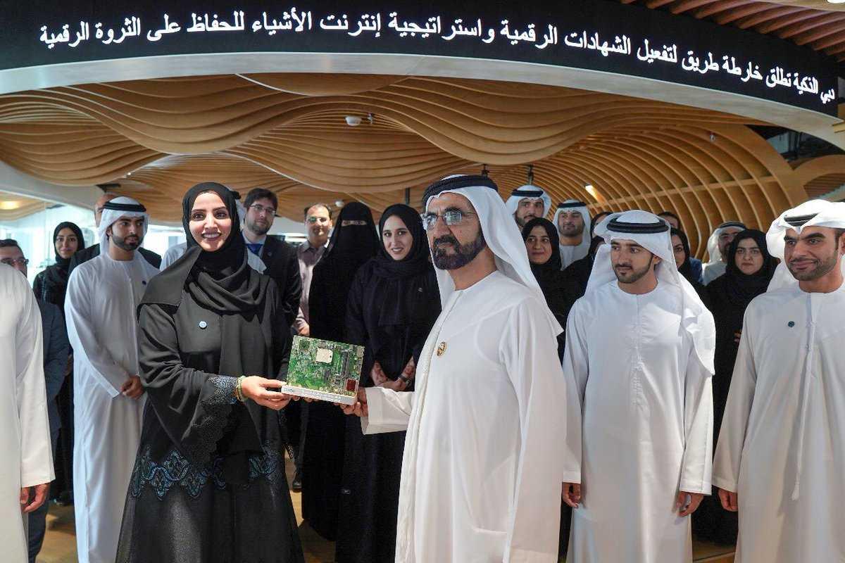 محمد بن راشد يطلق شهادات دبي الرقمية