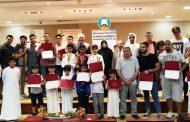 حضور ذهني رائع لأبطال جامعة عجمان بالفجيرة للشطرنج