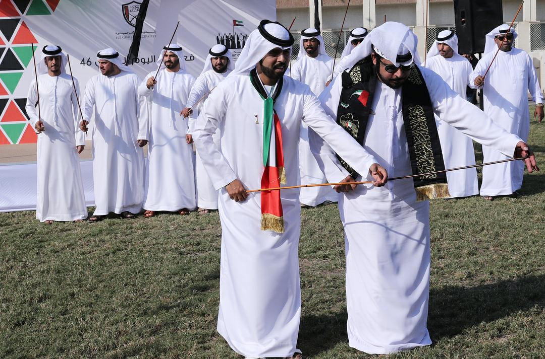 بلدية الفجيرة تشارك الإمارات فرحتها باليوم الوطني الـ46