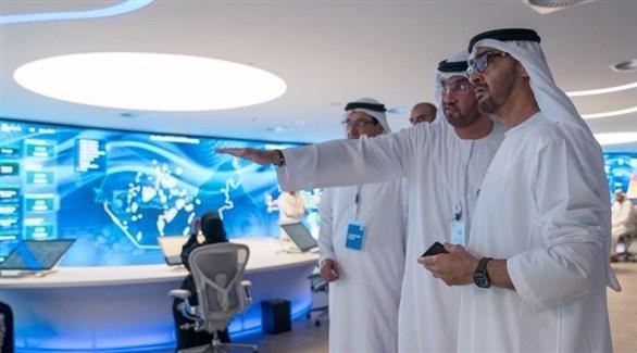 محمد بن زايد يفتتح مركز الذكاء الاصطناعي لشركة «أدنوك»