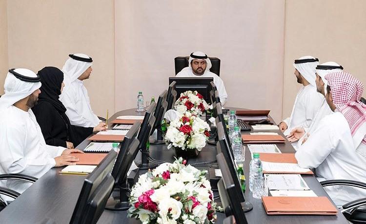 محمد الشرقي يترأس الاجتماع الدوري الثالث لمؤسسة الفجيرة لتنمية المناطق