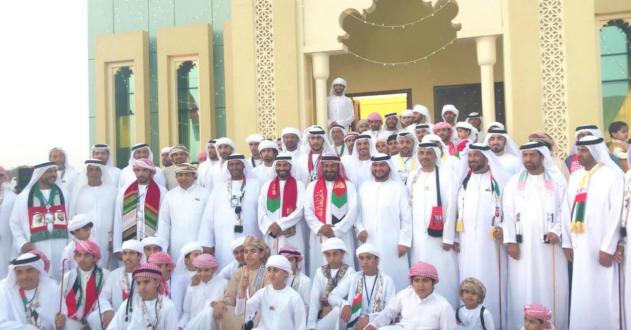 أهالي حبحب يحتفلون باليوم الوطني الـ46 بأهازيج شعبية وعروض متنوعة