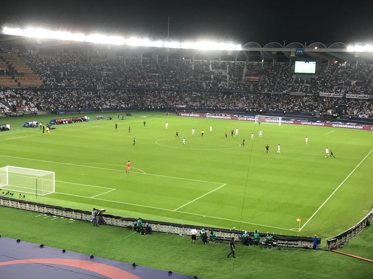 ريال مدريد يتقدم على الجزيرة 2-1