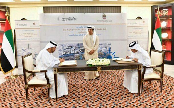 منصور بن زايد يشهد توقيع اتفاقية بقيمة 500 مليون درهم لتطوير ميناء الفجيرة