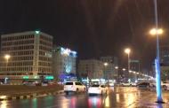 بالفيديو .. أمطار غزيرة على الفجيرة الآن