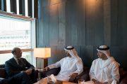 محمد بن زايد يستقبل وزير الخارجية الإيطالي
