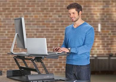دراسة: العمل واقفاً يساعدك على إنقاص وزنك