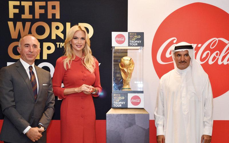 «كأس العالم 2018» تسجل رقماً قياسياً في برج خليفة