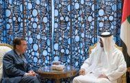 محمد بن زايد يستقبل رئيس لجنة الشئون الخارجية بمجلس النواب الأمريكي