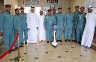 تدشين الروبوت سند بدفاع مدني الفجيرة