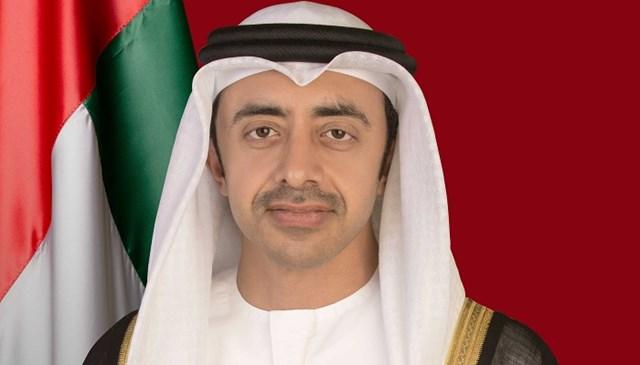 عبد الله بن زايد يبحث مع مستشار النمسا تعزيز العلاقات