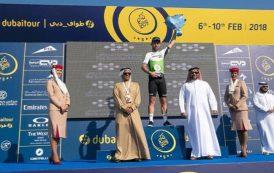سيف الشرقي يتوج الفائزين بمرحلة الفجيرة لطواف دبي الدولي للدراجات الهوائية