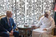 محمد بن زايد يستقبل بيل كلينتون