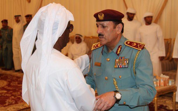 قائد عام شرطة الفجيرة يعزي أسرة الشهيد علي خليفة المسماري
