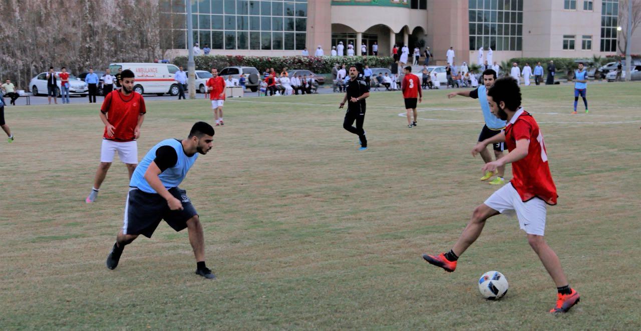 جامعة عجمان بالفجيرة تطلق دوري كرة القدم للكليات اليوم
