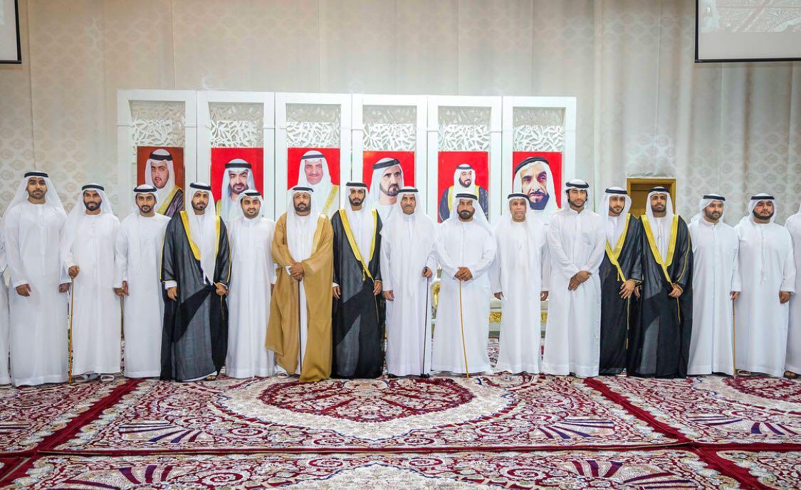 حاكم الفجيرة يحضر حفل زفاف أبناء راشد الحفيتي