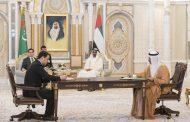محمد بن زايد ورئيس تركمانستان يشهدان توقيع اتفاقيات ومذكرات تفاهم بين البلدين