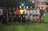 """فريقا """"فوج"""" و """"عبر الجزيرة"""" يتصدران دوري جامعة عجمان بالفجيرة"""