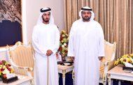ولي عهد الفجيرة يستقبل نائب رئيس جمعية الإمارات للخيول في أبوظبي