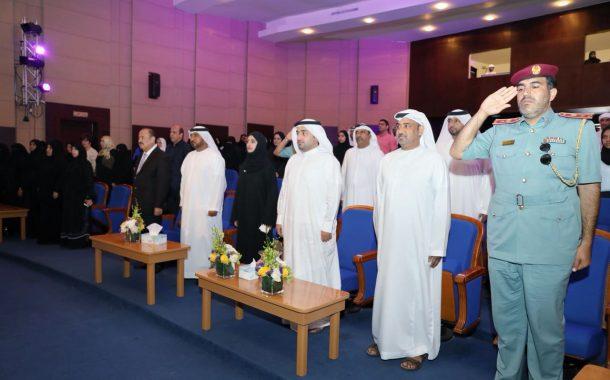 راشد الشرقي يشهد حفل اختتام مهرجان الفجيرة للمسرح المدرسي 2017-2018