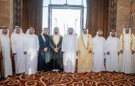 ولي عهد الفجيرة يحضر أفراح الحاي والفطيم في دبي