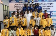 سباحو الفجيرة يحرزون أربع كؤوس و27 ميدالية في بطولة الدولة الشتوية