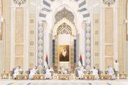 محمد بن راشد ومحمد بن زايد يستقبلان حكام الإمارات وأولياء العهود