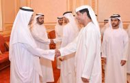 حاكم الفجيرة يواصل استقبال المهنئين بشهر رمضان