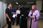 مستشفى الفجيرة يدخل السعادة بنفوس الموظفين والمرضى في العيد