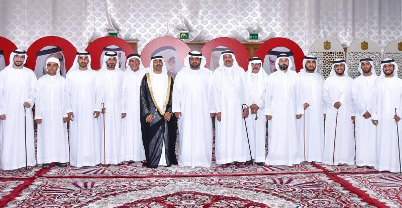 ولي عهد الفجيرة يحضر حفل زفاف الشيخ صالح بن سيف بن سيف الشرقي