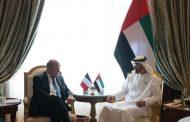 محمد بن زايد يستقبل وزير أوروبا والشؤون الخارجية الفرنسي