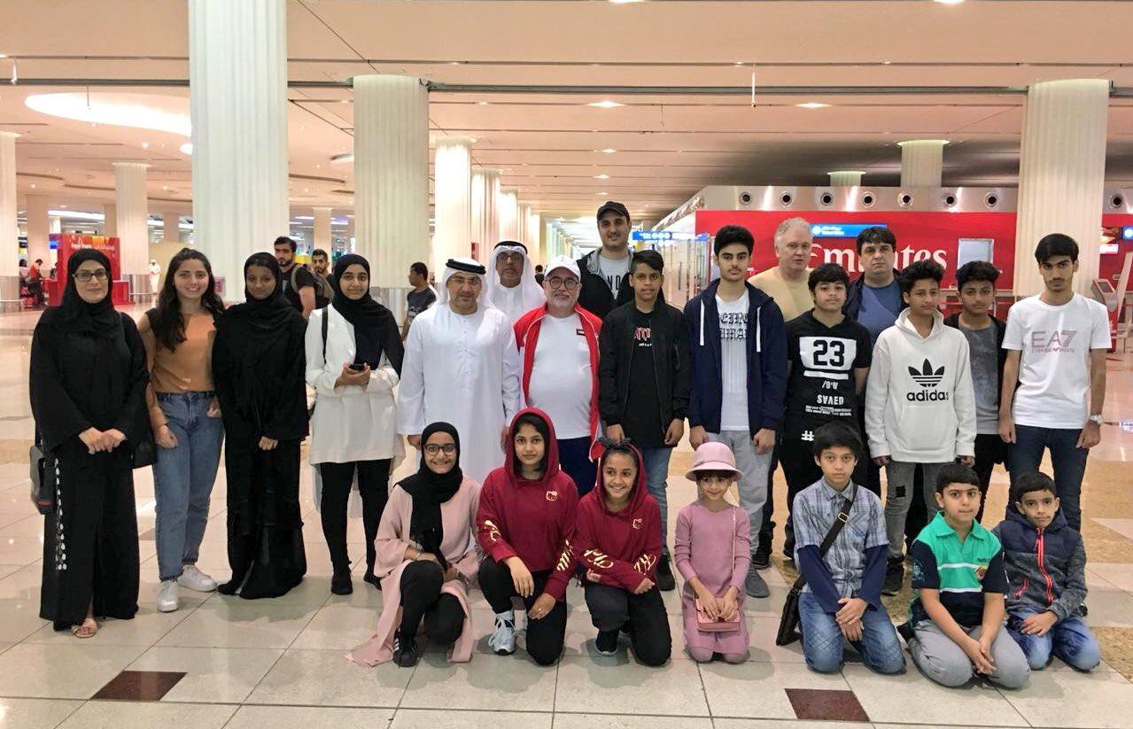 أربع لاعبين يمثلون الفجيرة في منتخب الإمارات للشطرنج