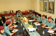 قائد عام شرطة الفجيرة يتفقد إدارة مراكز الشرطة الشاملة