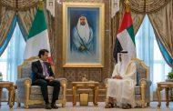 محمد بن زايد ورئيس وزراء إيطاليا يبحثان علاقات البلدين والتطورات الإقليمية