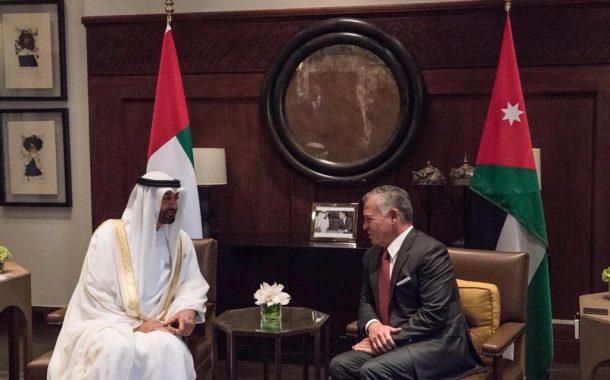 محمد بن زايد يصل عمان
