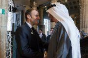 محمد بن زايد والرئيس الفرنسي يبحثان تعزيز العلاقات الثنائية وعدداً من القضايا الإقليمية والدولية