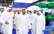محمد بن راشد يزور معرض أبوظبي الدولي للبترول
