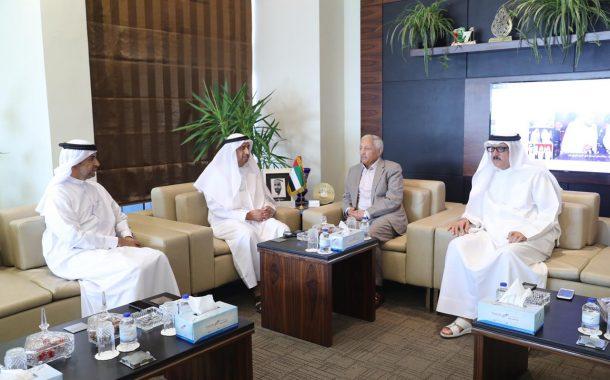 غرفة التجارة واتحاد الغرف العربية تبحثان فرص التعاون المشترك