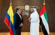 عبدالله بن زايد يستقبل وزير خارجية كولومبيا
