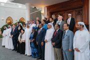 محمد بن زايد يستقبل المشاركين في مؤتمر التحالف العالمي للقاحات والتحصين