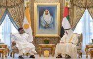 محمد بن زايد يستقبل رئيس النيجر