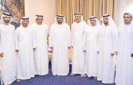 محمد بن حمد الشرقي يلتقي اللجنة المنظمة لبطولة الفجيرة لجمال الخيل العربي