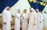 راشد الشرقي يقدم واجب العزاء في وفاة الشيخة نيلا بنت راشد النعيمي