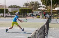 100 لاعب يدشنون بطولة الفجيرة الدولية لتنس الشباب